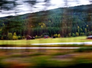 One of Will's photos from a train ride.
