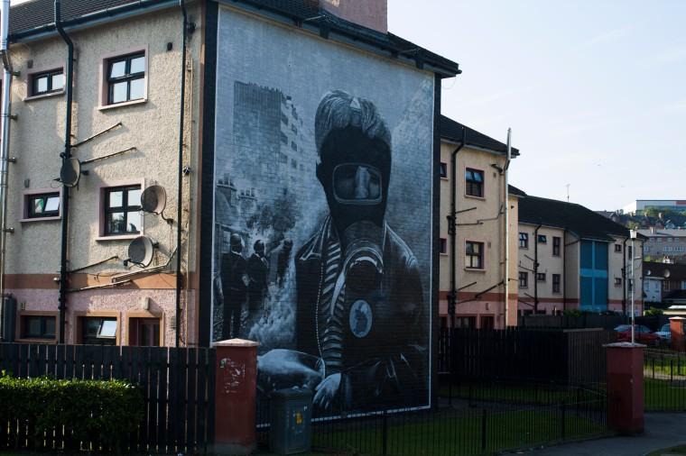 My favorite Derry mural