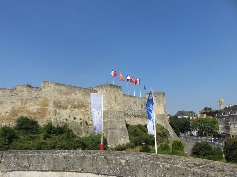 The Chateau de Caen, a fortress of William the Conquerer from the 11th  century.