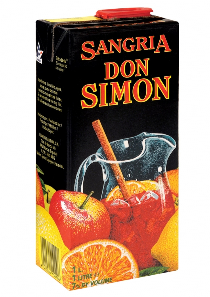 Only the best carton sangria for you!